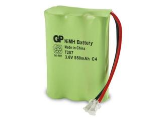Akumulator niklowo-wodorkowy; 3.6V; 550mAh; 55AAAH3BMU list 1 szt. GP Battery