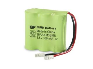 Akumulator niklowo-wodorkowy; 3.6V; 300mAh; 30AAAM3BMU list 1 szt. GP Battery