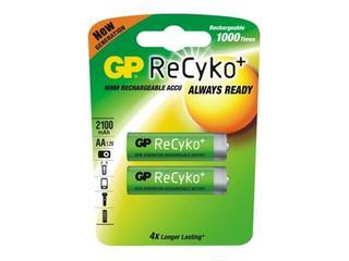 Akumulator ReCyko+; niklowo-wodorkowy; AA; 1.2V; 2050mAh list 2 szt. GP Battery