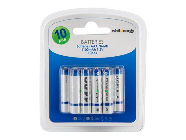 Akumulator 10xAAA 1100mAh Ni-MH blister 06778-BL Whitenergy