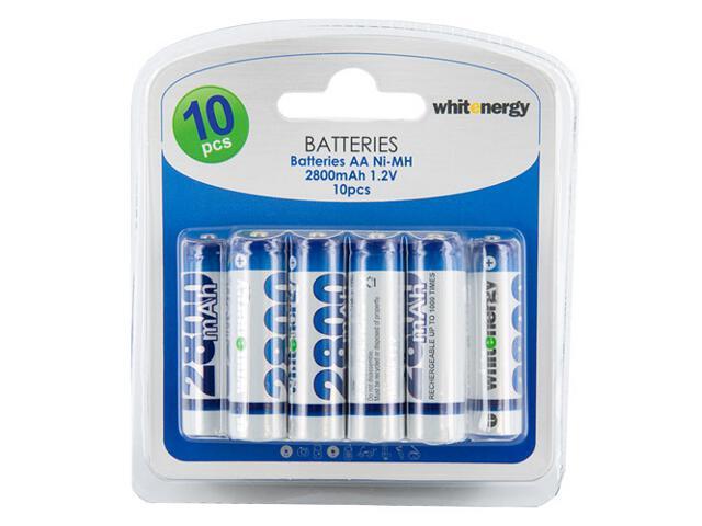 Akumulator 10xAA 2800mAh Ni-MH blister 06779-BL Whitenergy