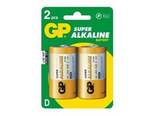 Bateria alkaliczna; DLR20; 1.5V list 2 szt. GP Battery