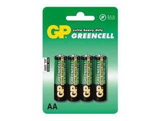 Bateria cynkowo-chlorkowa; AAR6; 1.5V list 4 szt. GP Battery