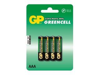 Bateria cynkowo-chlorkowa; AAAR03; 1.5V list 4 szt. GP Battery