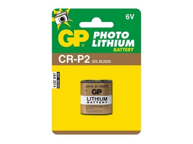 Bateria litowa; DL223A; 6.0V list 1 szt. GP Battery