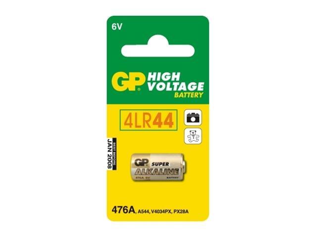 Bateria alkaliczna; PX28A4LR44; 6.0V list 1 szt. GP Battery