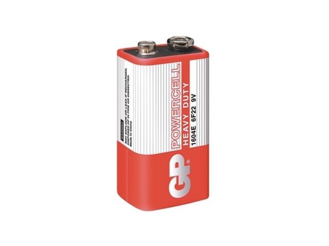 Bateria cynkowo-węglowa; 9V6F22; 9.0V shrink 1 szt. GP Battery
