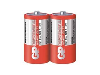 Bateria cynkowo-węglowa; DR20; 1.5V shrink 2 szt. GP Battery