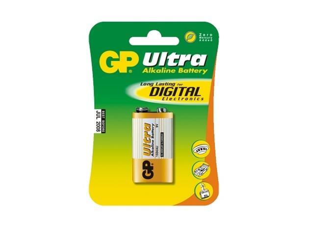 Bateria alkaliczna; 9V6LR61; 9.0V list 1 szt. GP Battery