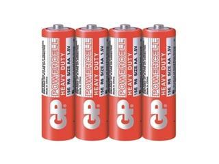 Bateria cynkowo-węglowa; AAR6; 1.5V shrink 4 szt. GP Battery