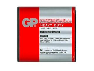 Bateria cynkowo-węglowa; 3R12; 4.5V shrink 1 szt. GP Battery