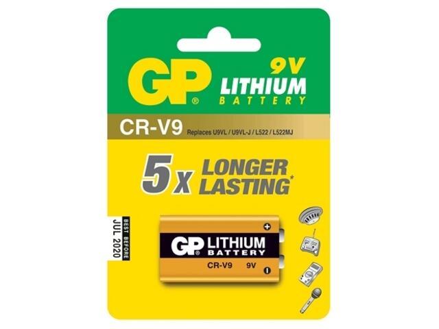 Bateria litowa; 1604LC; 9.0V list 1 szt. GP Battery