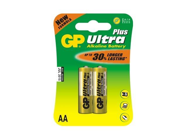 Bateria alkaliczna plus AALR6; 1.5V list 2 szt. GP Battery