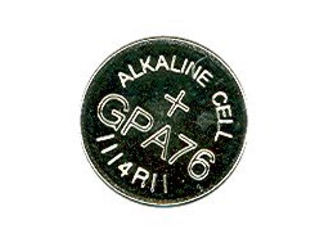 Bateria pastylkowa alkaliczna; AG13LR44; 1.5V list 10 szt. GP Battery