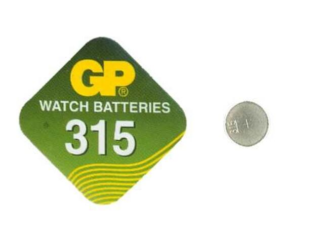 Bateria pastylkowa srebrowa; SR716SR767; 1.55V miniblist 1 szt. GP Battery