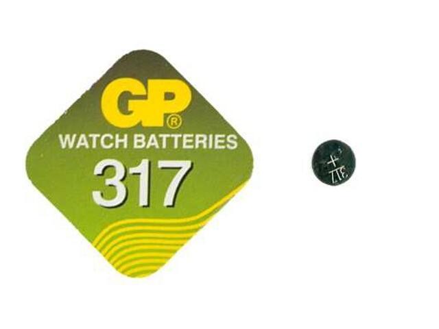 Bateria pastylkowa srebrowa; SR62SR516; 1.55V miniblist 1 szt. GP Battery