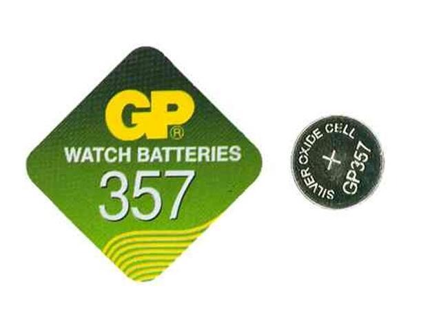 Bateria pastylkowa srebrowa; SR44; 1.55V miniblist 1 szt. GP Battery