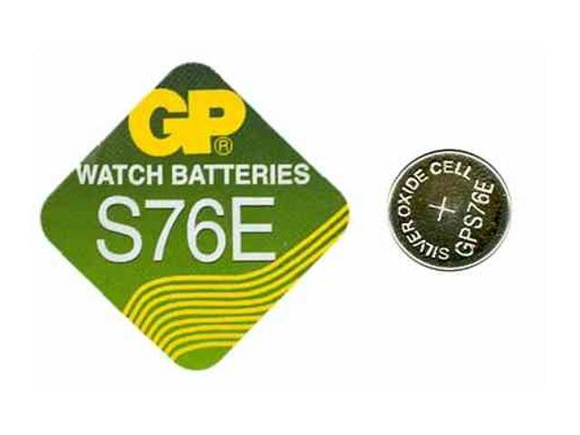Bateria pastylkowa srebrowa; G13SR44; 1.55V; 130mAh miniblist 1 szt. GP Battery