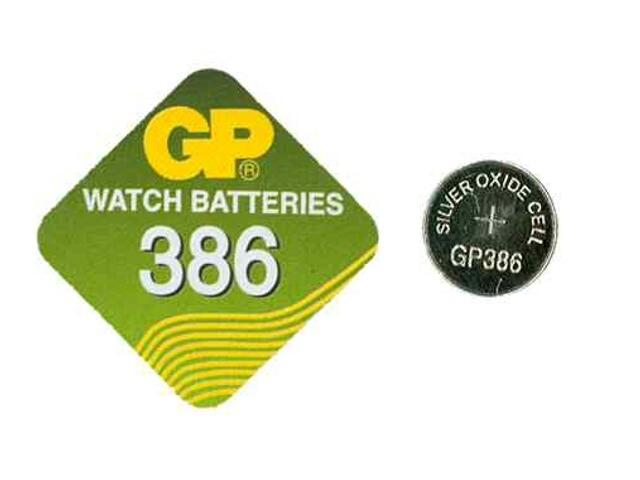 Bateria pastylkowa srebrowa; G12SR43; 1.55V miniblist 1 szt. GP Battery