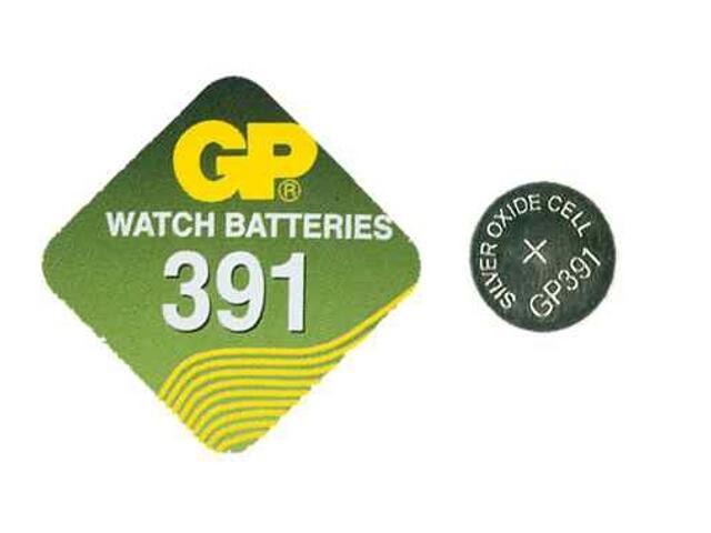 Bateria pastylkowa srebrowa; G8SR55SR1120; 1.55V miniblist 1 szt. GP Battery
