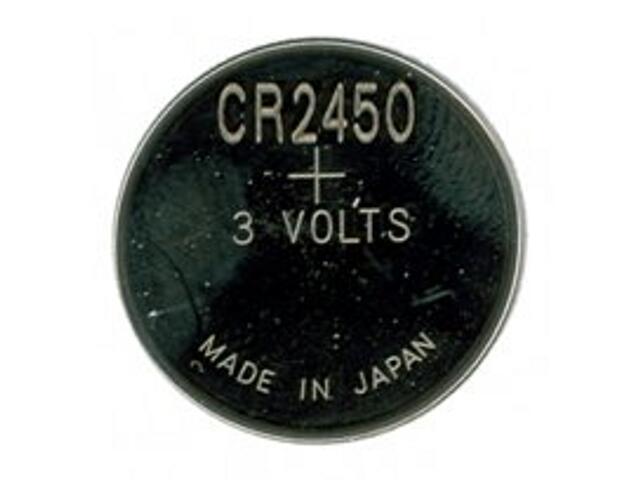 Bateria pastylkowa litowa; 3.0V CR2450-U5 list 5 szt. GP Battery