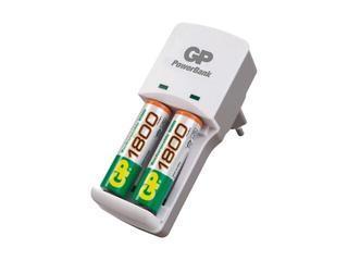Ładowarka Mini PowerBank; zaw.2x80AAAHC list 1 szt. GP Battery