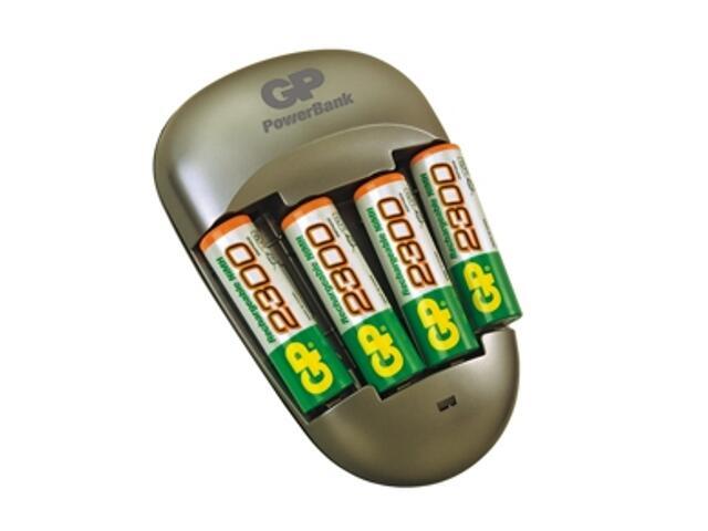 Ładowarka PowerBank Quick 3; zaw.4x250AAHC list 1 szt. GP Battery
