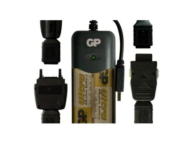 Ładowarka do telefonów XPG01AU-U2 list 1 szt. GP Battery