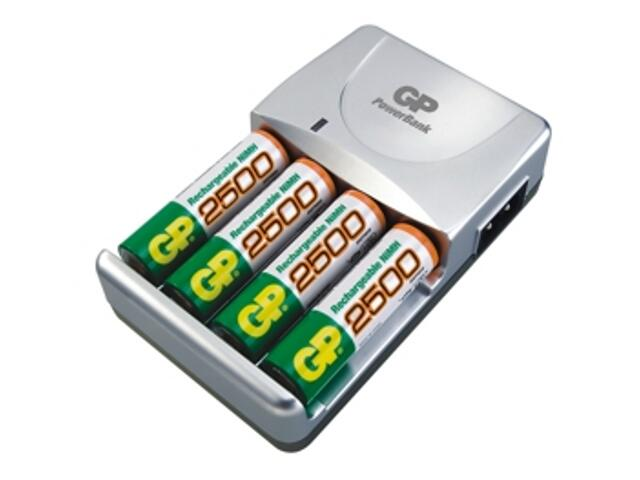 Ładowarka PowerBank M520; zaw.4x250AAHC list 1 szt. GP Battery