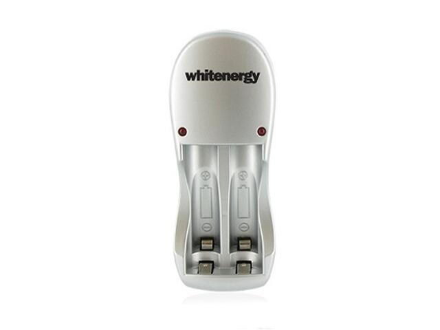Zestaw ładowarka na 2 akumulatory + 2 akumulatorki 2700AA 03373 Whitenergy