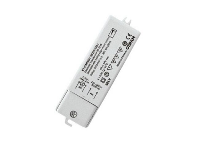 Transformator 1-fazowy elektroniczny ET PARROT 70/220-240 zasilacz HALOTRONIC Osram