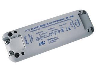 Transformator 1-fazowy elektroniczny 230V 0-70W YT70 EMC
