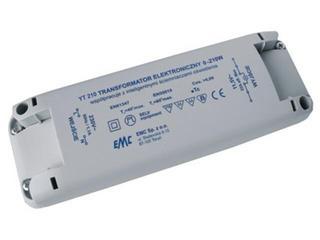 Transformator 1-fazowy elektroniczny 230V 0-210W YT210 EMC