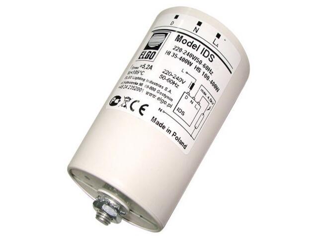 Statecznik IDS-4,1 elektroniczny układ zapłonowy 100-400W Elgo
