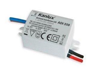 Zasilacz do taśm LED ADI 350 1x3W Kanlux