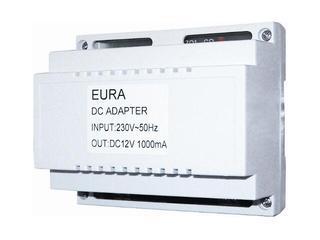 Zasilacz RL-A4 do domofonów na szynę DIN 12V DC 1000mA Eura-Tech