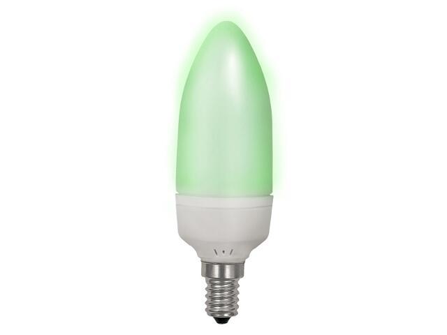 xŻarówka LED REA LED12 E14-GN 1,5W zielona Kanlux