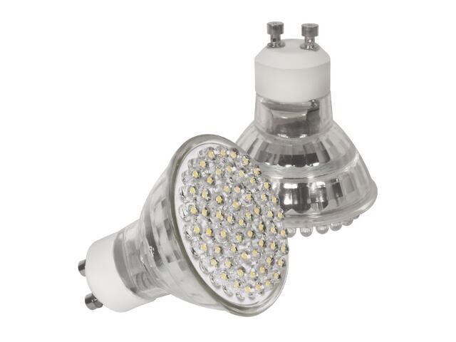 xŻarówka LED LED60 GU10-WW 3,8W ciepłobiała Kanlux