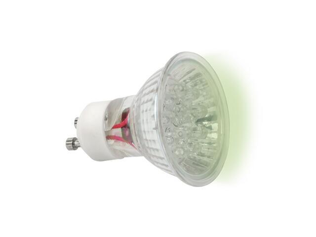 xŻarówka LED LED20 GU10-GN 1,3W zielona Kanlux