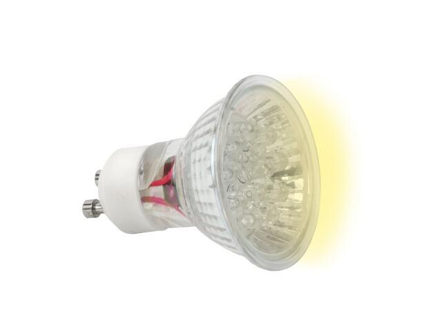 xŻarówka LED LED20 GU10-Y 1,3W żółta Kanlux