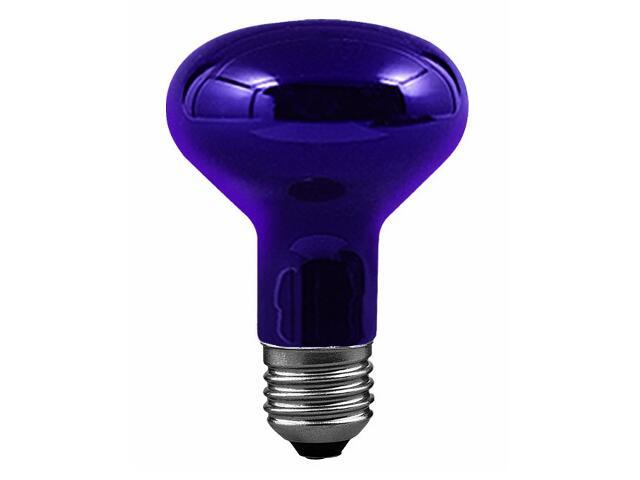 """xŚwietlówka ultrafioletowa reflektorowa """"czarne światło"""", E27, R80, 75W Paulmann"""