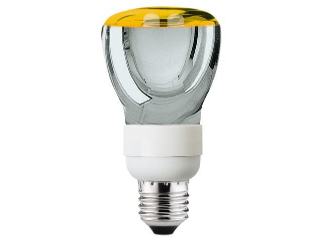 xŚwietlówka energooszczędna R63 7W E27 8000h złota Paulmann