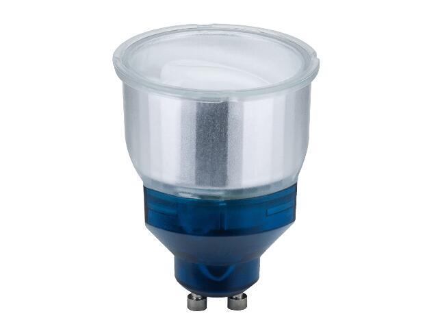 xŚwietlówka energooszczędna ESL Reflektor 9W GU10 zimne światło Short neck Paulmann