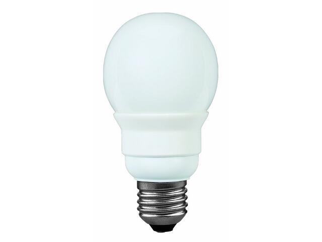 xŚwietlówka energooszczędna Miniglobe electronic, opal, E27, 7W Paulmann