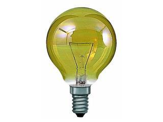 xŻarówka dekoracyjna Miniglobe, złota E14, fi 60mm, 40W Paulmann
