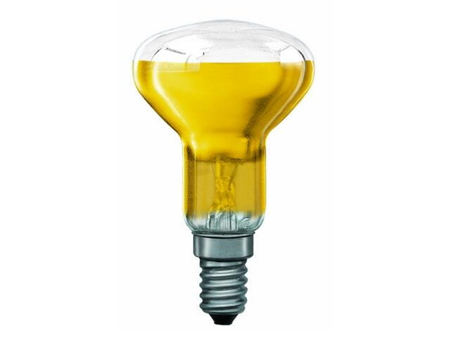 xŻarówka dekoracyjna R50 Akzent Happy Color, żółta, E14, 40W Paulmann