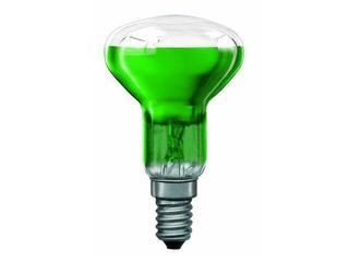 xŻarówka dekoracyjna R50 Akzent Happy Color, zielona, E14, 40W Paulmann
