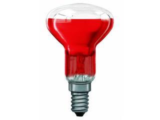 xŻarówka dekoracyjna R50 Akzent Happy Color, czerwona, E14, 40W Paulmann