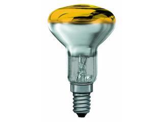 xŻarówka dekoracyjna R50 żółta-przezroczysta E14, 25W Paulmann