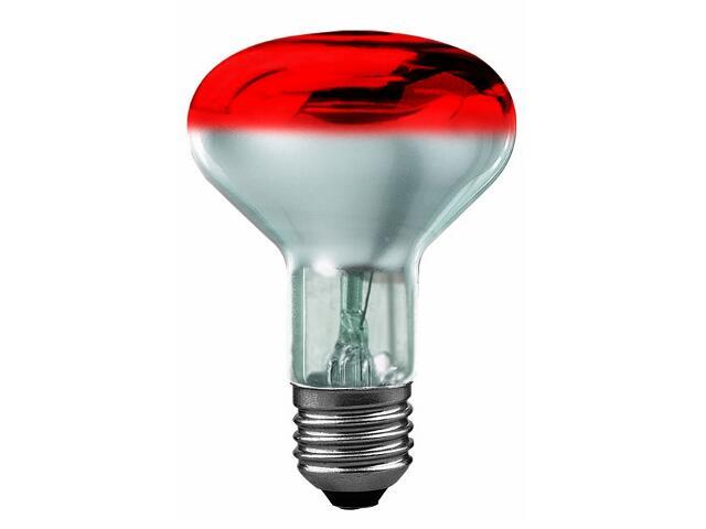xŻarówka dekoracyjna R80 czerwona-przezroczysta E27, 60W Paulmann